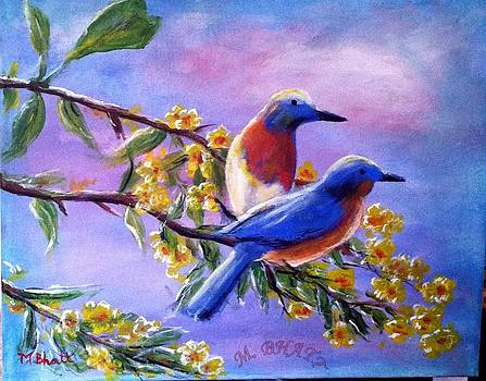 Beautiful Birds by M Bhatt