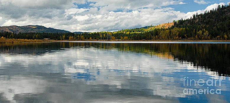 Beautiful Blue Lake by Sam Rosen