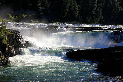 Connie Zarn - Beautiful day at Kootenai Falls