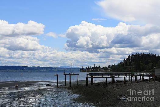 Vicki Maheu - Beautiful Day on Puget Sound