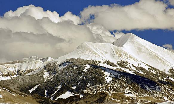 Beautiful La Sal Utah  by Juls Adams
