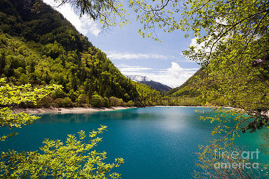 Fototrav Print - Beautiful lake in the mountain