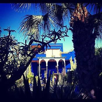 Beautiful #marrakechblue by Sarah Dawson