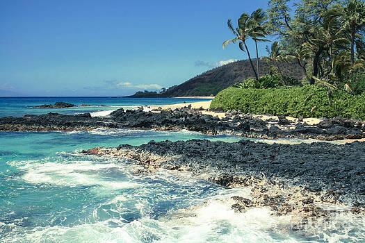 Beautiful Paako Beach Makena Maui Hawaii by Sharon Mau