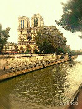 Beautiful Paris by Dennis Curry