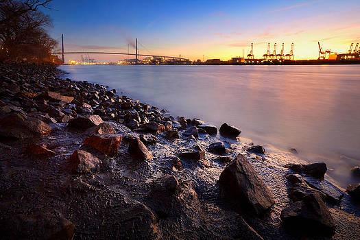 Beautiful Port of Hamburg by Marc Huebner