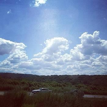 Beautiful Skies #roadtrip #scenery by Kelli Donnelly