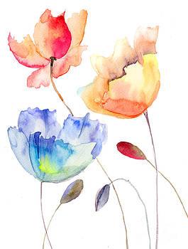 Beautiful summer flowers by Regina Jershova