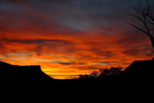 Beautiful Sunrise in the Canyon by Justyne Moore