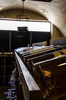 Beautiful Wine Cellar by Heather Grow