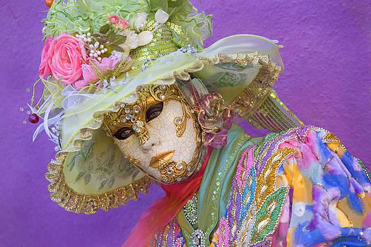Beautiful Women in Mask by Indiana Zuckerman