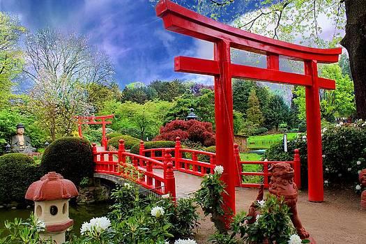 Julia Fine Art And Photography - Beautiful Zen Garden