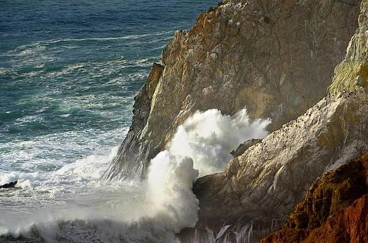 Crashing Wave by Alex King