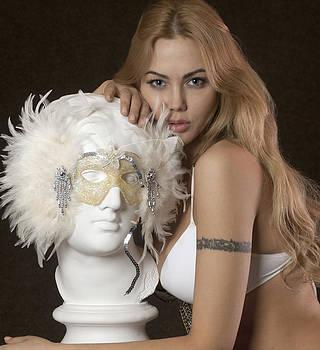 Beauty contest winner posing sexy by Anton Oparin
