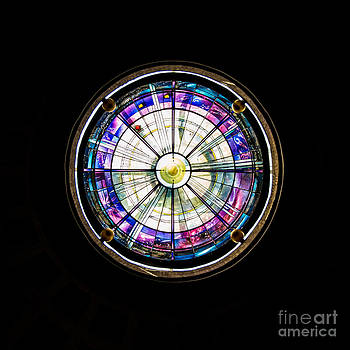 Beauty in Stained Glass I by Christina Klausen