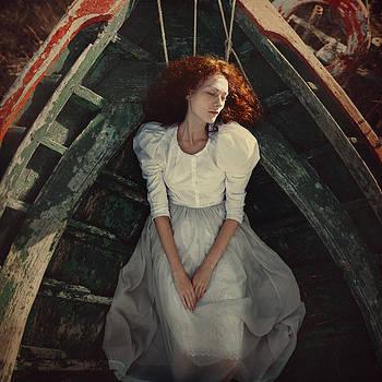 Beauty in the boat by Anka Zhuravleva