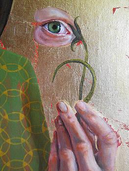 Beauty In The Eye detail by Kirsten Beitler