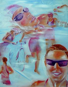 Beauty of the Triathlon by Sandy Ryan