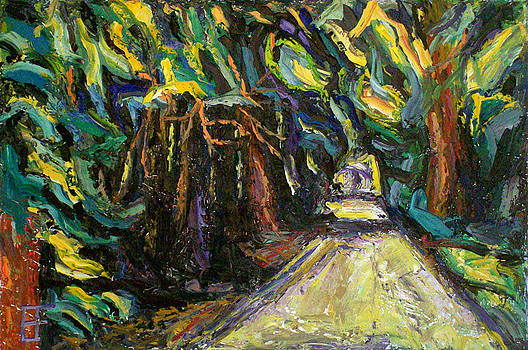 Allen Forrest - Beaux Arts Tree and Lane