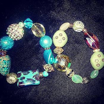 #beauxbijoux #bracelets #jewelry by Amy Marie La Faille