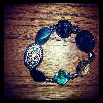 #beauxbijoux #elastic #bracelets by Amy Marie La Faille