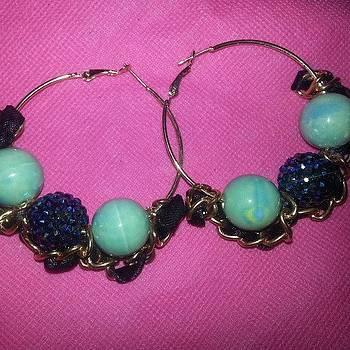 #beauxbijoux #hoops #earrings by Amy Marie La Faille