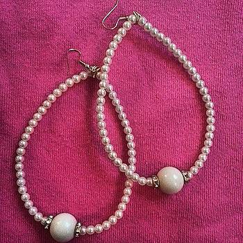 #beauxbijoux #pearls #drops by Amy Marie La Faille