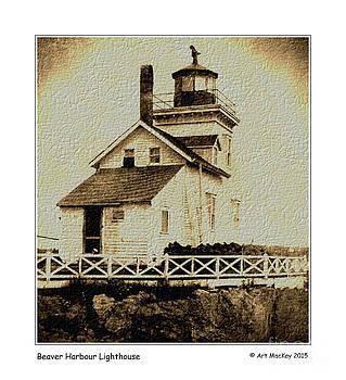 Art  MacKay - Beaver Harbour Lighthouse NB