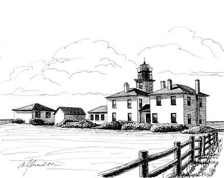 Beavertail Lighthouse by Beth Johnston