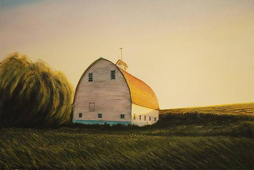 Becker Barn by Leonard Heid