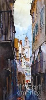 Beco de Lisboa by Antonio Bartolo
