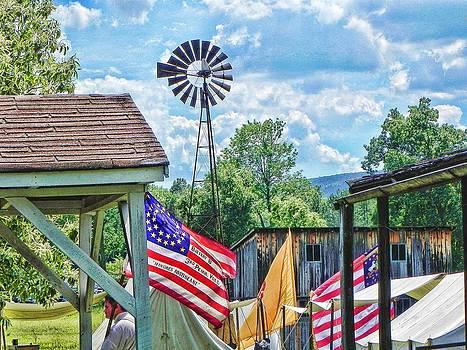 Bedford Village Pennsylvania by Kathy Churchman