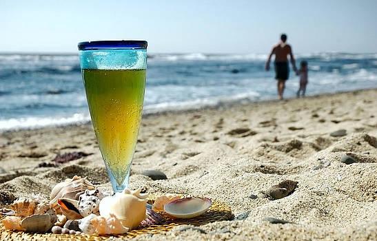 Beer and Beach  by Karin Hildebrand Lau