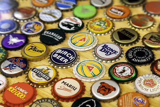 Lynn Palmer - Beer and Beverage Bottle Caps