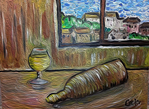 Beer at the Chateau by GR Cotler