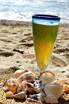 Beer on Beach by Karin Hildebrand Lau