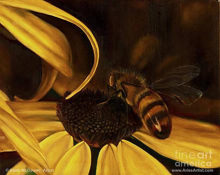 Bees at Dusk  @ AriesArtist.com by AriesArtist Com