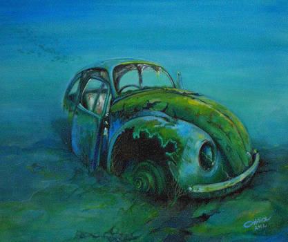 Beetle forever by Ottilia Zakany