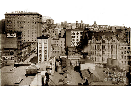 California Views Mr Pat Hathaway Archives - Nob Hill from Flood Building Before San Francisco Earthquake and Fire of April 18 1906