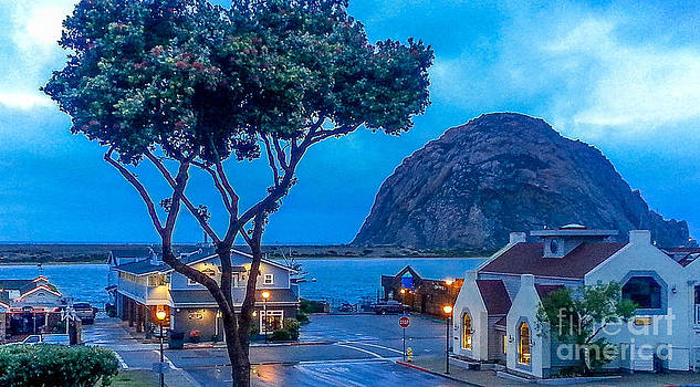 Before sunrise Morro Bay by DJ Laughlin