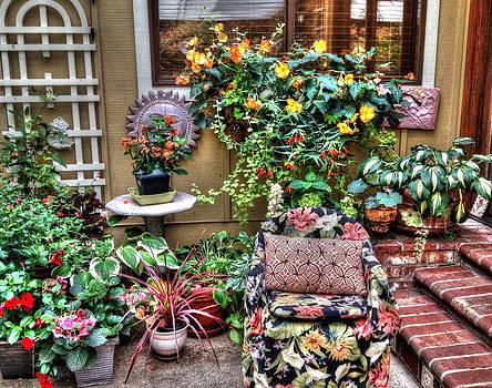 Begonia Garden by Lynette McNees