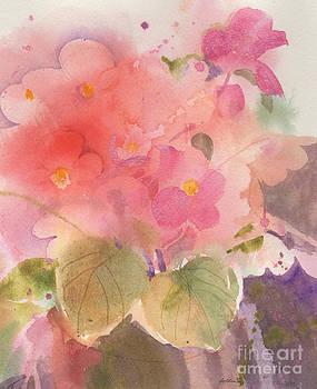 Begonia Impressions by Sheila Golden
