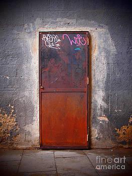 Behind The Door by Victoria Herrera