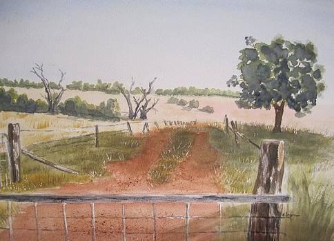 Behind the Gate by Elvira Ingram