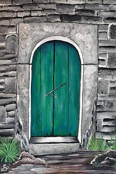 Behind The Green Door by Sherry Allen