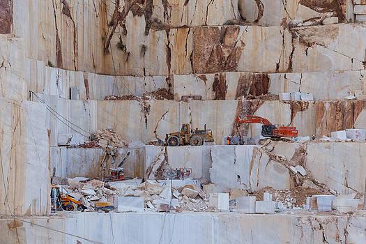 Beige marble quarry by Paul Indigo