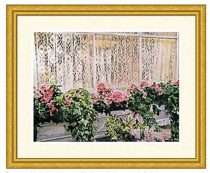 David Lloyd Glover - Bel-Air Azalea Flower Box  Estate Sale