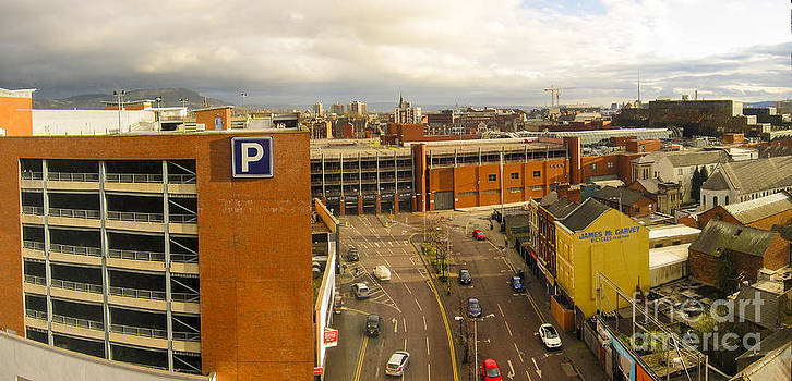 Belfast Dawn by Donald Davis