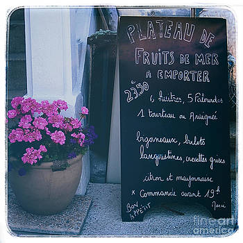 Kate McKenna - French Chalkboard Menu