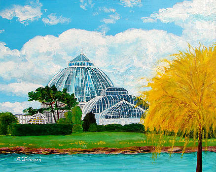 Belle Isle Conservatory by Suzanne Johnson